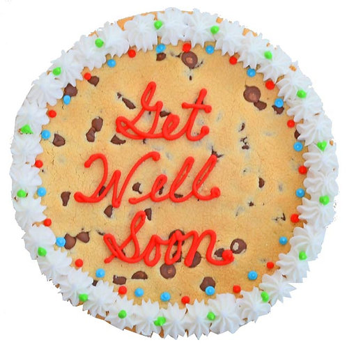 Get Well Soon Giant Cookie CB-BIG-GET-ROUND