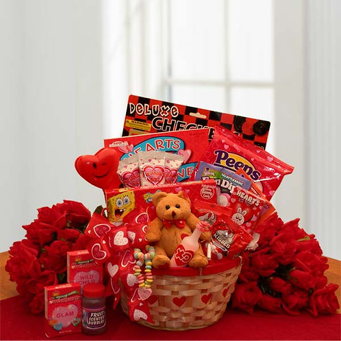 My Little Valentine Children's Gift Basket 8160172