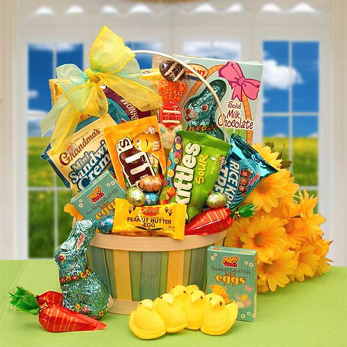 Easter Sweets N Treats Gift Basket 915392