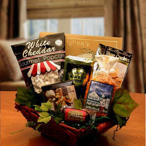 Welcome To Your New Home Gift Basket 820492