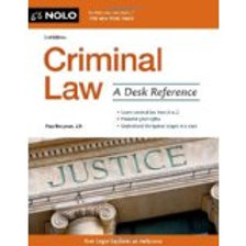 Criminal Law: A Desk Reference Second Edition Edit