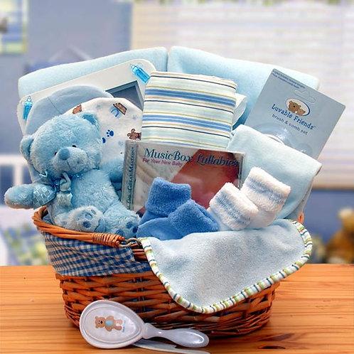 New Baby Basics - Blue