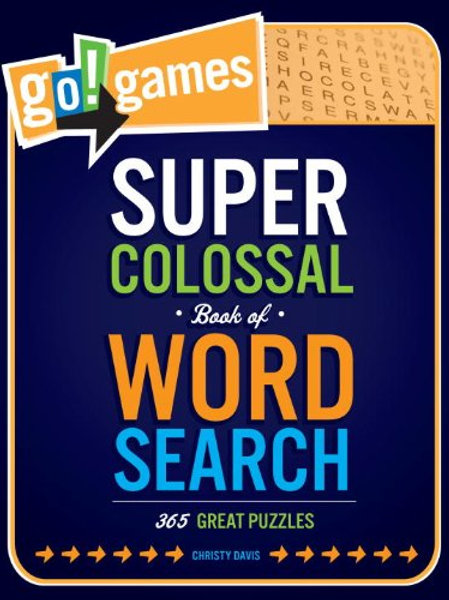 Go!Games Super Colossal Book of Word Search...