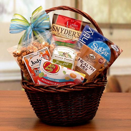 Mini Sugar Free Gift Basket 80193M