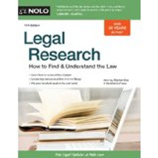 Legal Research: How to Find & Understand the Law..