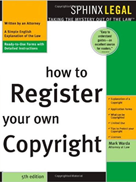 How to Register Your Own Copyright (Legal Survival