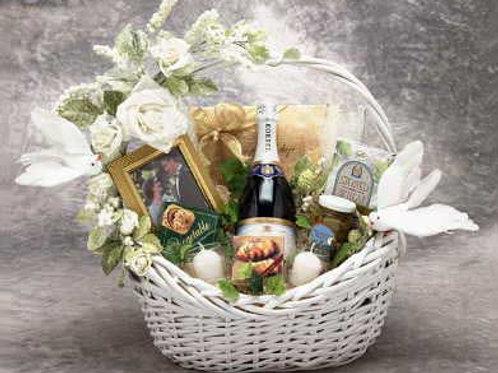 Wedding Wishes Gift Basket 87011