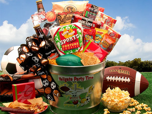 Tailgate Party Time Gift Pail 851231