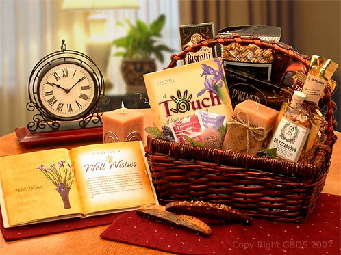 Wellness Wishes Get Well Gift Basket 813171