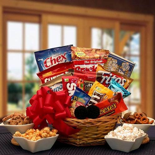 Snack Lovers Sampler Gift Basket 820472