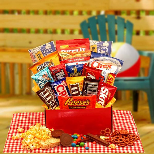 All American Favorites Snack Care Package  819312