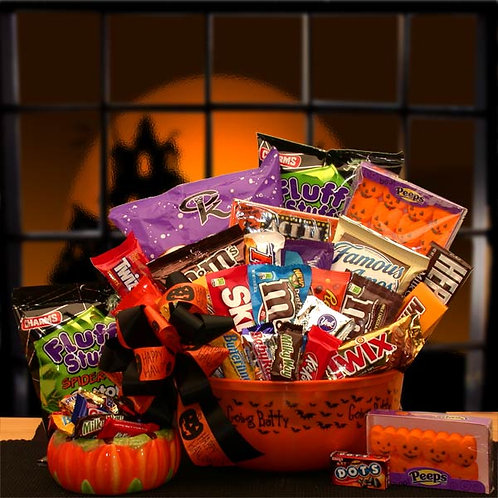 No Tricks Just Treats Halloween Goodies 914652