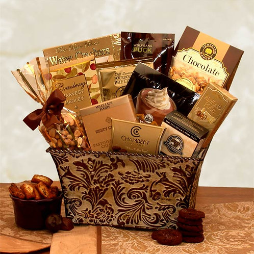 Savory Sophistication Gourmet Gift Basket 810732