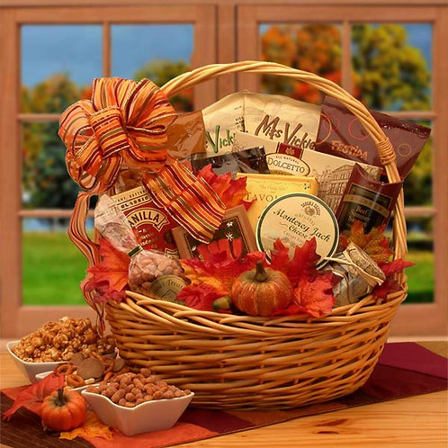 Shades of Fall Snack Gift Basket 91612