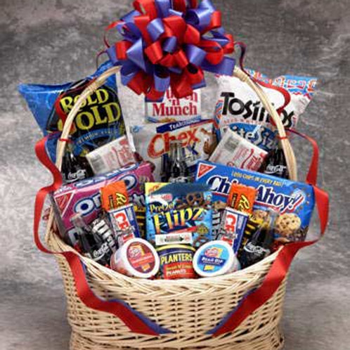 Coke Snack Works Gift Basket (over-sized box Lg) 82021