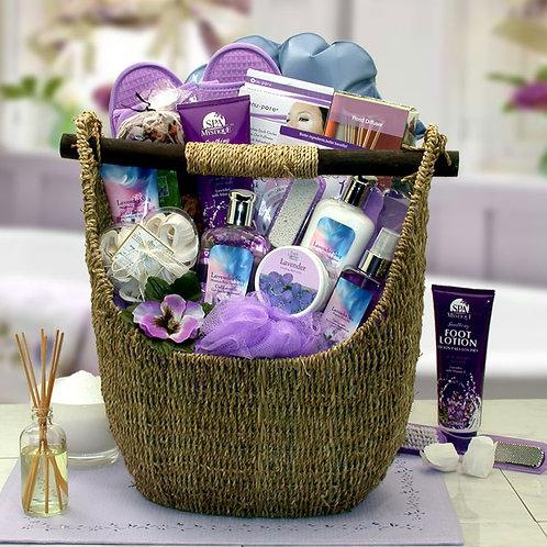 Lavender Sky Ultimate Bath & Body Tote 8413652