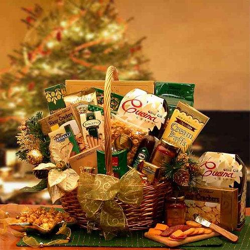 Yuletide Gathering Gourmet Holiday Basket 816492