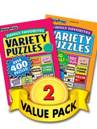 Favorites Variety Volumes - 2 Pack