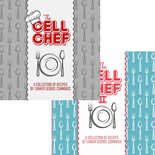 Cell Chef Cookbook I & II Bundle/Combo