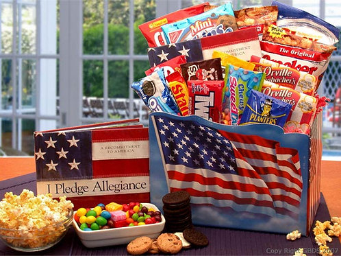 America The Beautiful Snack Gift Box 820211