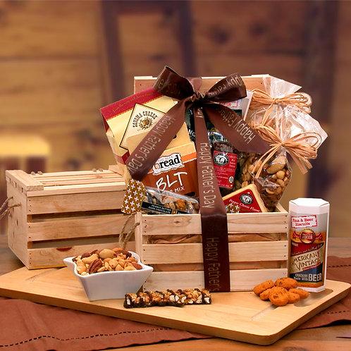 Dad's Favorites Premium Nuts & Snacks Crate 851972