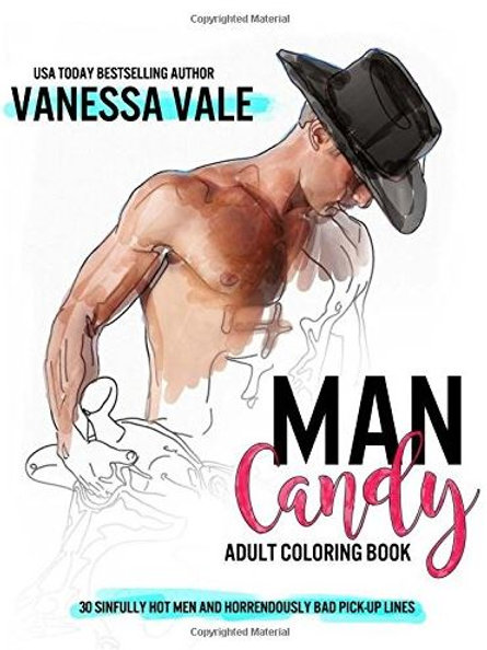 Man Candy: An Adult Coloring Book with 30 Hot Men