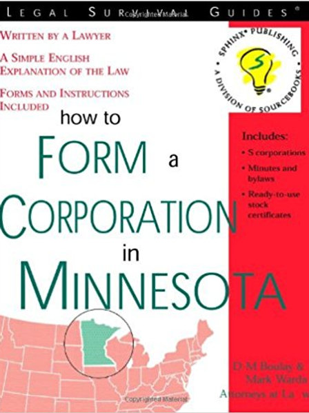How to Form a Corporation in Minnesota