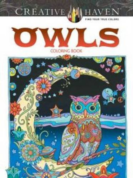 Creative Haven Owls Coloring Book (Adult Coloring)