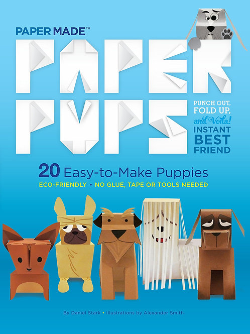 Paper Pup: Punch Out Fold Up
