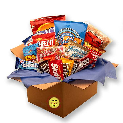 Snackdown Deluxe Snacks Care Package  819332