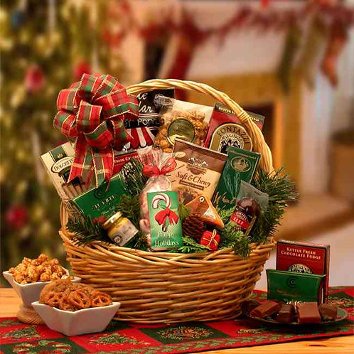 Holiday Celebrations Holiday Gift Basket-Sm 81543