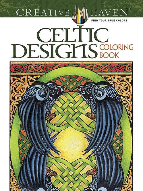 Creative Haven Celtic Designs Adult Coloring Book