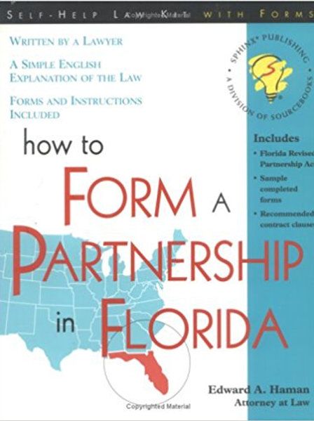 How to Form a Partnership in Florida