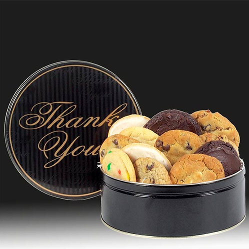 A Big Thank You Cookie Tin CB-TIN-THA-STRIPE-12