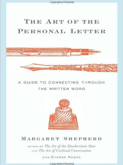 The Art of the Personal Letter: A Guide to...
