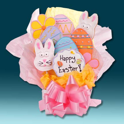 Happy Easter Cookie Bouquet LF-CB-H4-9