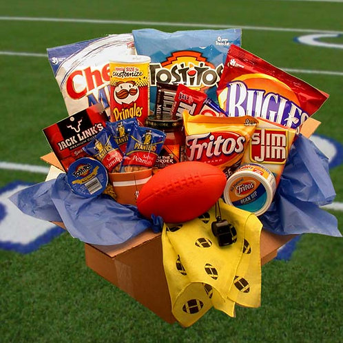 Touchdown Game Time Snacks Care Package 819351