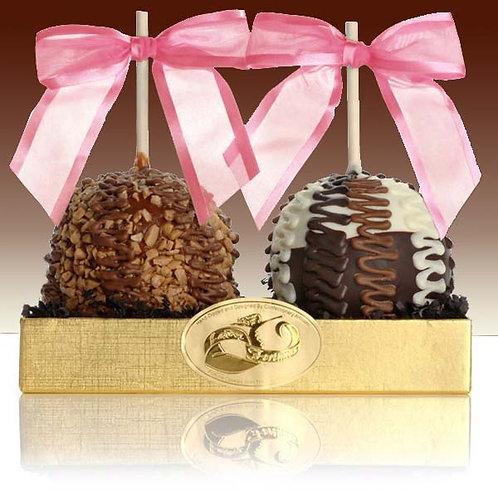Fancy Chocolate Caramel Apple Duet LF-CA01DUO