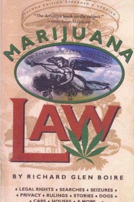 Marijuana Law - 2nd Edition
