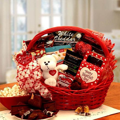 My Sugar Free Valentine Gift Basket 8161332