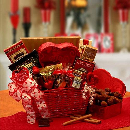 Cupids Choice Valentines Chocolates Basket 8161372