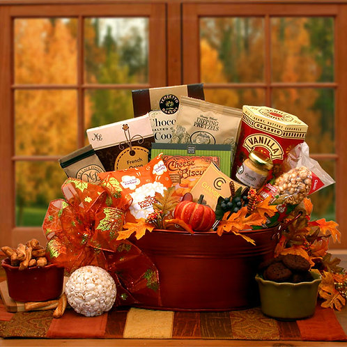 The Tastes of Fall Gourmet Gift Basket 916112