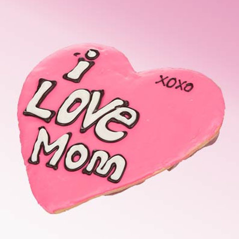 I Love Mom Giant Frosted Cookie LF-GNTSGRMOM2