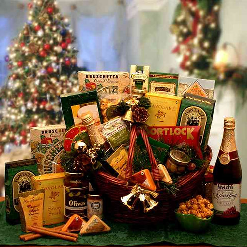 The Holiday Entertainer Gift Basket 816852