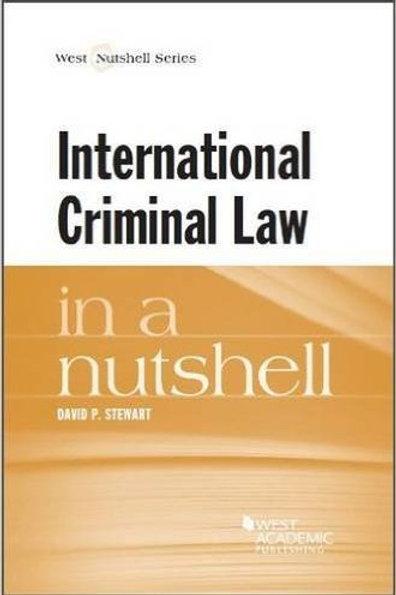 International Criminal Law in a Nutshell 1st Ed.
