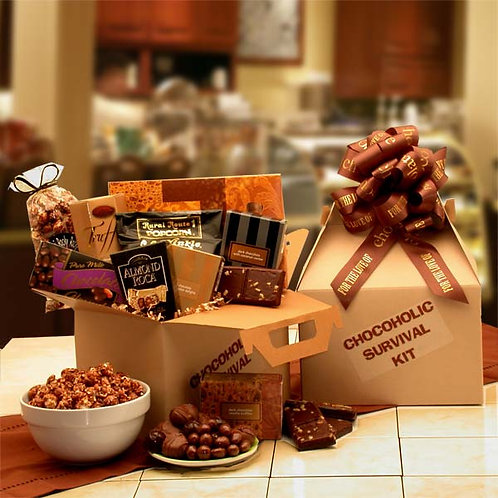 The Chocoholic's Survival Kit 819292