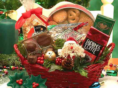 Holiday Cheer Gift Basket 815223