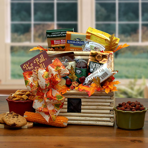 It's Fall Y'all Log Cabin Gift 91692
