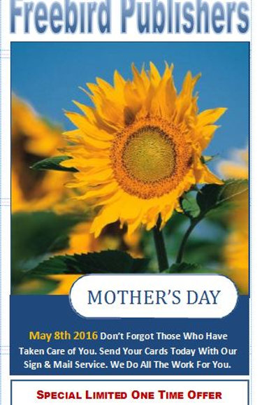 Mother's Day Brochure