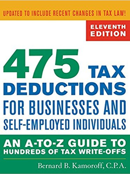 475 Tax Deductions for Businesses and Self-Employe